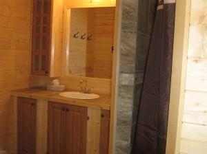 Salle de toilette et douche