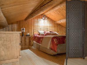 Chambre à la mezzanine